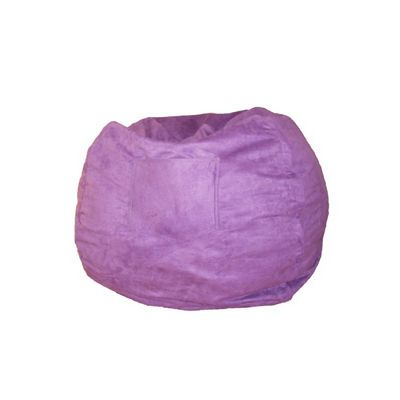 Fun Furnishings Purple Micro Suede Small Beanbag FF-30206