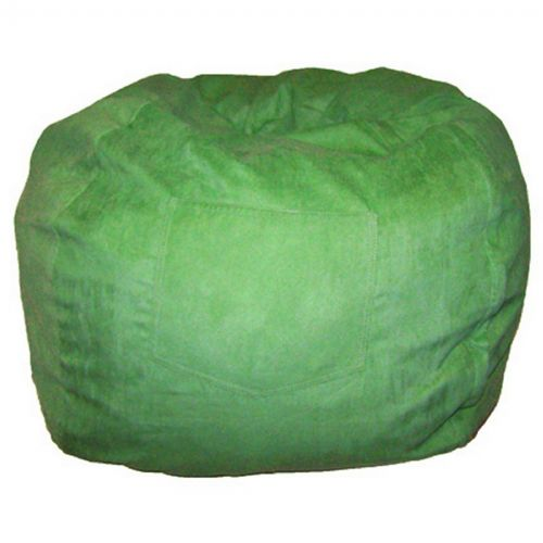 Fun Furnishings Lime Green Micro Suede Small Beanbag FF-30205