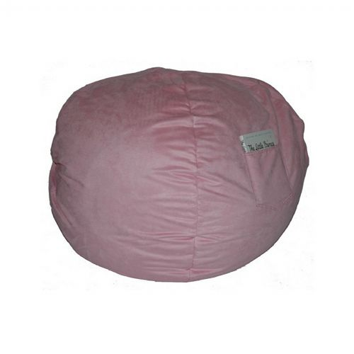 Fun Furnishings Pink Micro Suede Small Beanbag FF-30230