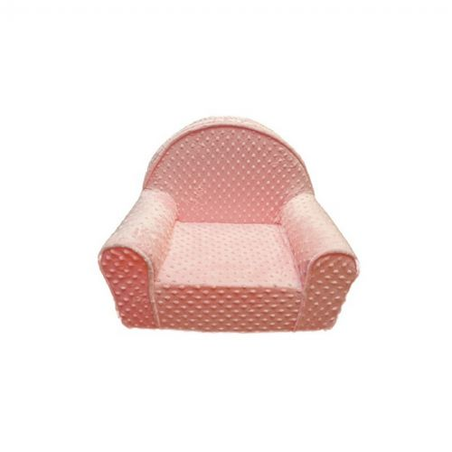 Fun Furnishings Pink Minky Dot My First Chair FF-60321