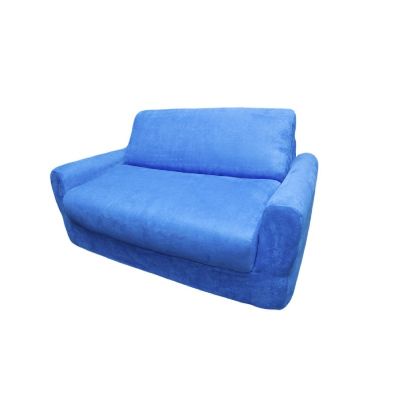Fun Furnishings Royal Blue Micro Suede Sofa Sleeper : 4910207630 from www.cozydays.com size 800 x 800 jpeg 41kB
