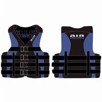 Airhead Adult Watersport Neo/ Nylon Life Jacket L/XL AH10014-05-B-BL