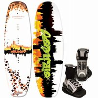 Airhead Grafitti City Wakeboard with Grind Binding AHW-3016