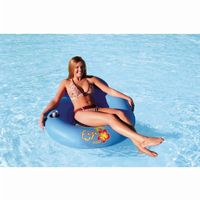 Inflatable Fiji Pool Float with Mesh Seat AHFF-1
