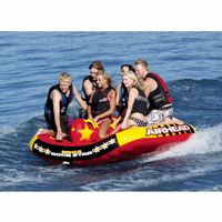 Mega Rockstar Six Rider Towable Tube AHRS-6