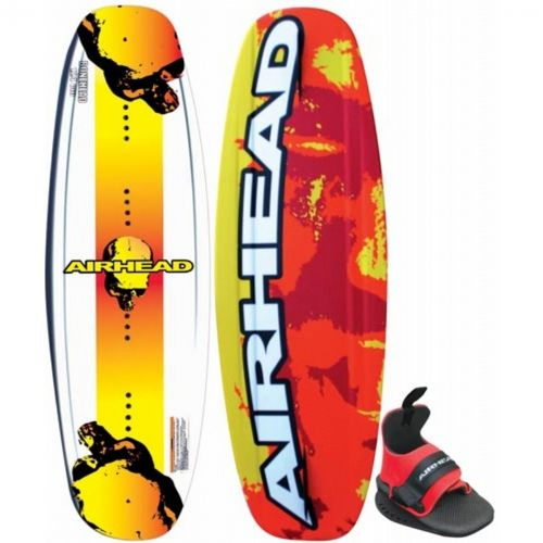 Airhead Bonehead Wakeboard with Wrap Binding AHW-11
