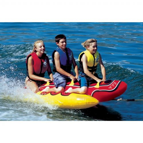 Hot Dog Triple Rider Towable Tube AHHD-3