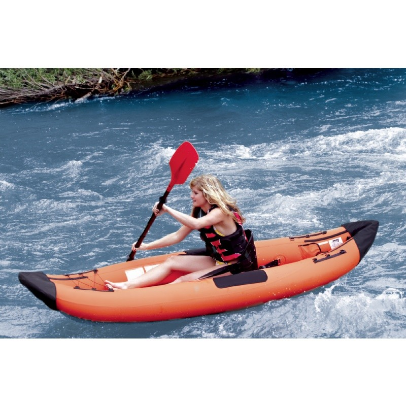 Pool & Beach: Inflatable Boats & Kayaks: Airhead 1 Paddler Performance Travel Kayak