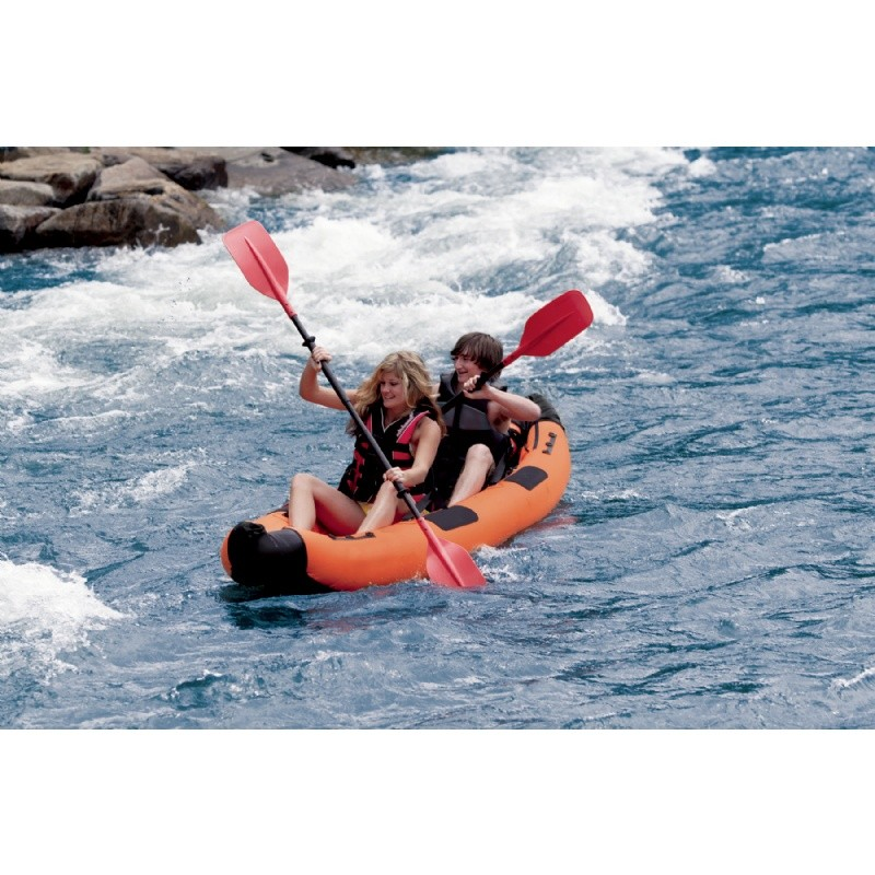 Pool & Beach: Inflatable Boats & Kayaks: Airhead 2 Paddler Performance Travel Kayak