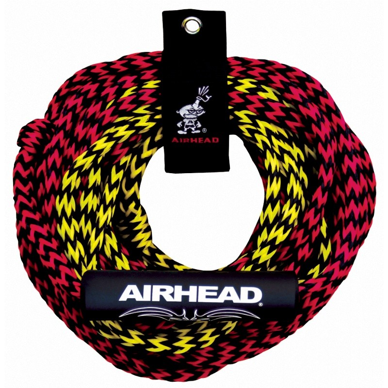 Tire Tubes for River: Airhead 2 Rider 2 Section Tube Rope