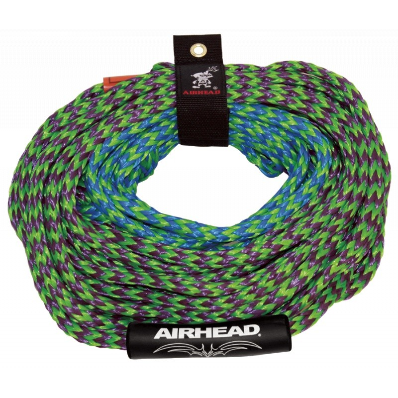 Extreme Manta Ray Flying Tube: Airhead 4-Rider 2-Section Tube Rope