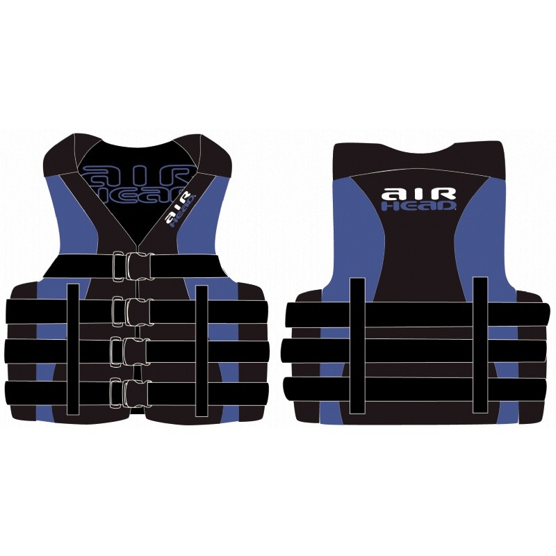 Flotation Devices: Watersports Adult Neo/ Nylon Life Jacket L/XL