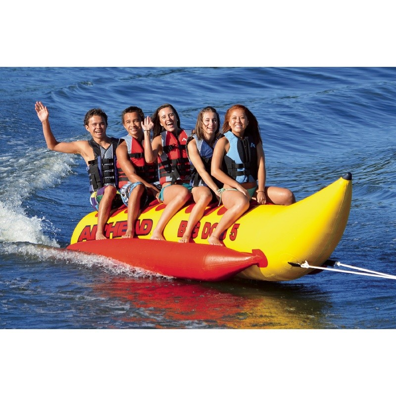 Airhead Big Dog 5 Rider Towable Tube