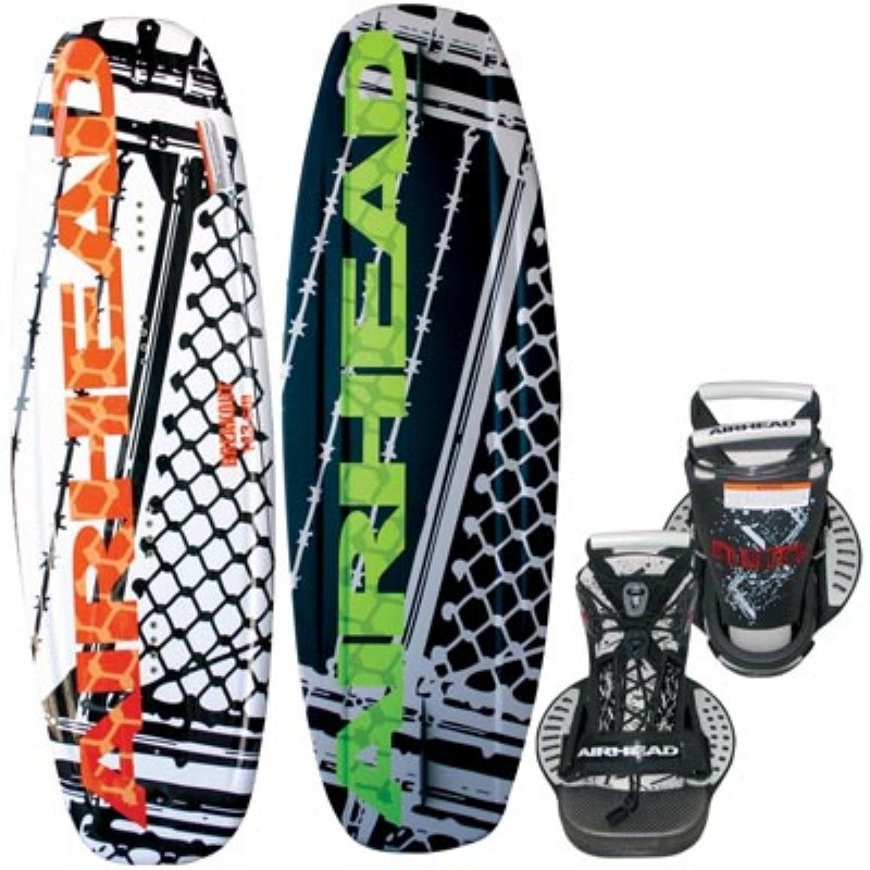 Wakeboard & Binding Sets: Airhead Breakout Wakeboard with Clutch Binding