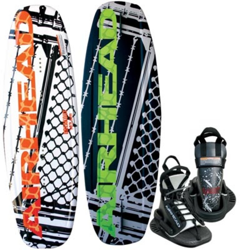 Wakeboard & Binding Sets: Airhead Breakout Wakeboard with Vise Binding
