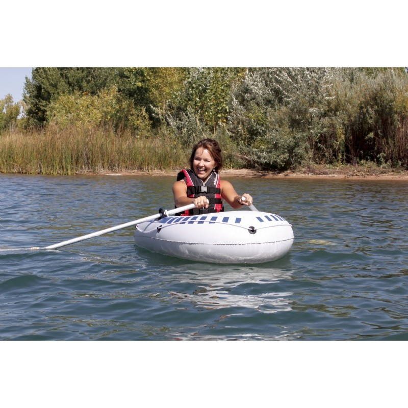 Inflatable Rocket Ship Toy: Airhead One Person Inflatable Boat