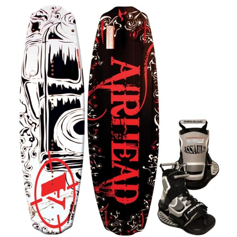 Wakeboard & Binding Sets: Airhead Rockabilly Wakeboard with Assault Binding