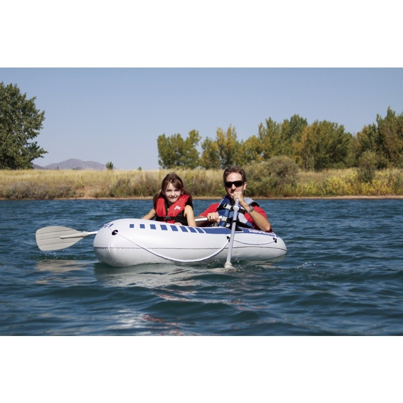 Inflatable Rocket Ship Toy: Airhead Two Person Inflatable Boat