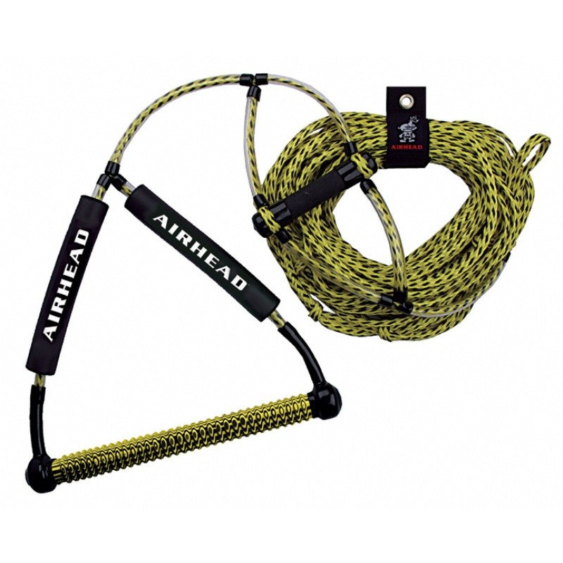 Best Rated Water Towable Tubes for 2010: Airhead Wakeboard Rope with Phat Grip