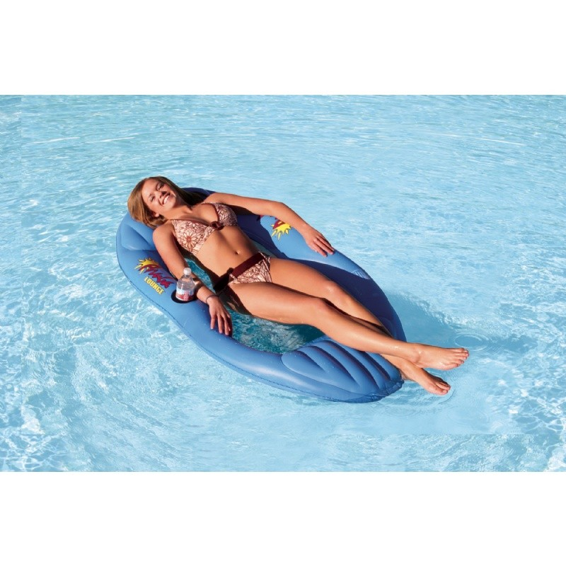 6 8 People Inflatable Floats: Aruba Inflatable Mesh Pool Lounge