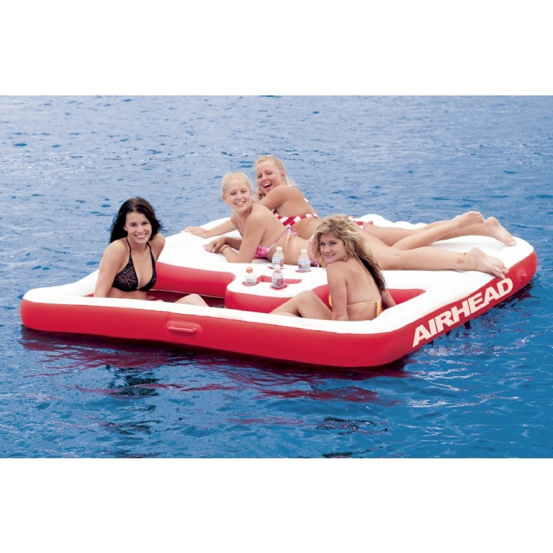 Infant Pool Float: Cool Island Inflatable Lake Float