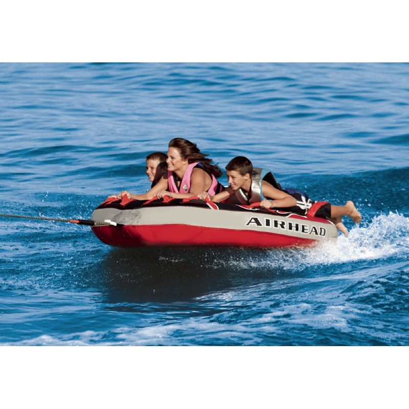 Water Sport Inflatables: G- Force 3-Rider Towable Tube