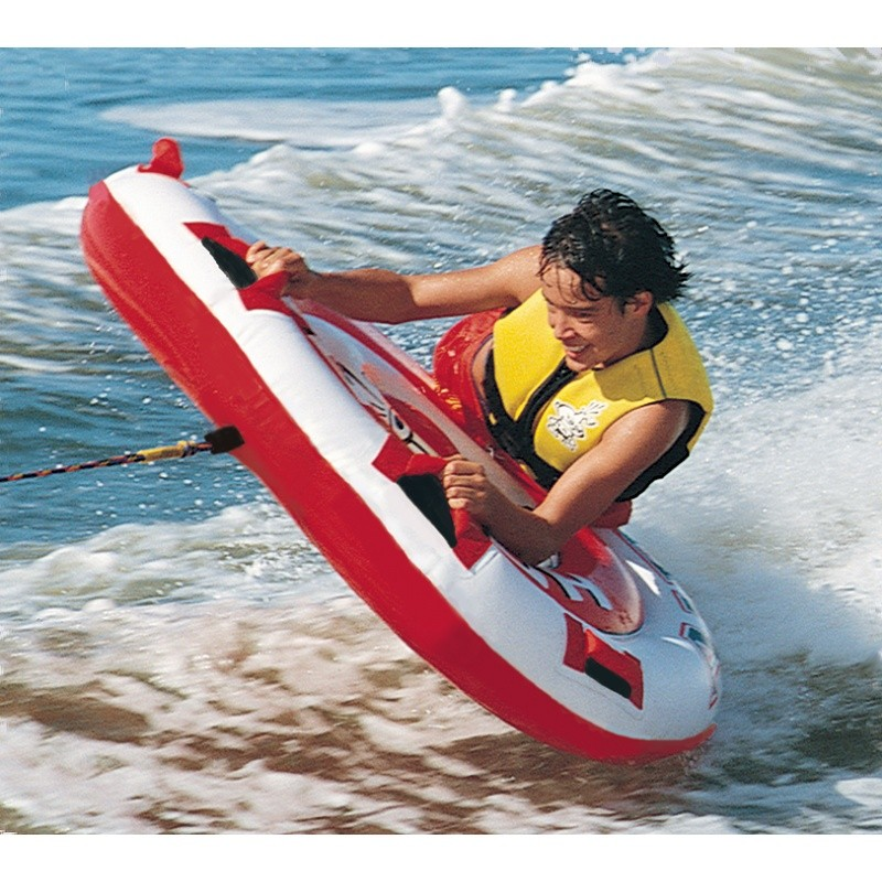1 Person Towables, Tubes, Inflatables, Water Sports: Hot Shot 1 Person Towable Tube