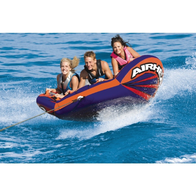 Water Sport Inflatables: Matrix V-3 Towable Tube 3-Rider