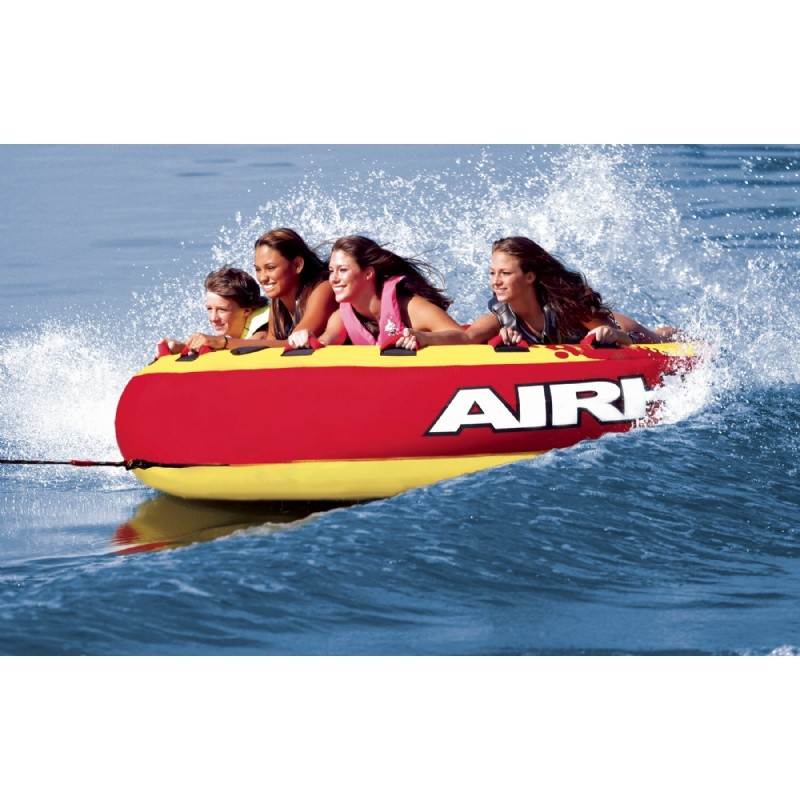 Tubes To Pull Behind Boat: Mega Slice 4-Rider Towable