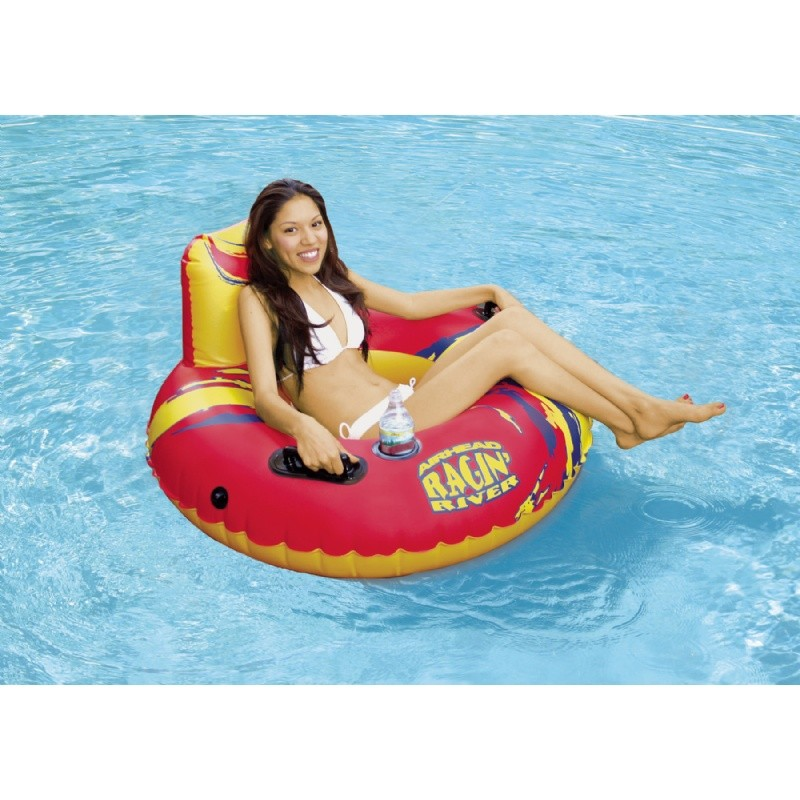 Cheap Non Inflatable Water Floats: Ragin River Inflatable Pool Tube