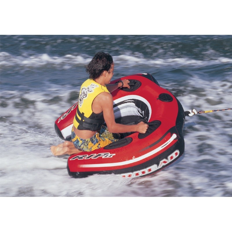 1 Person Towables, Tubes, Inflatables, Water Sports: Rip 2 Towable Tube 1 Person