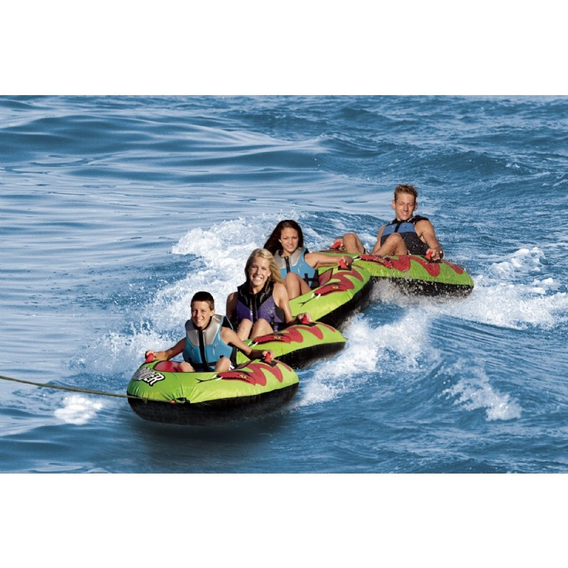 Water Sport Inflatables: Sidewinder 1 Person Connectable Towable Tube
