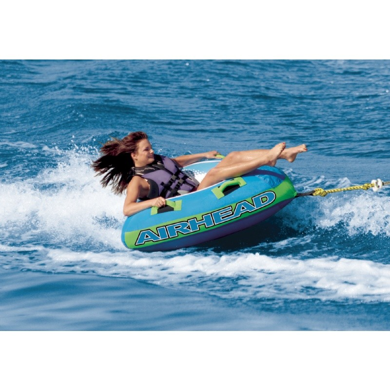 6 Person Float: Slide Single Rider Towable Tube