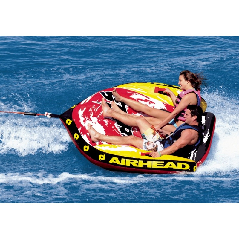 Water Sport Inflatables: Storm 2 Cockpit Towable Tube 2-Rider