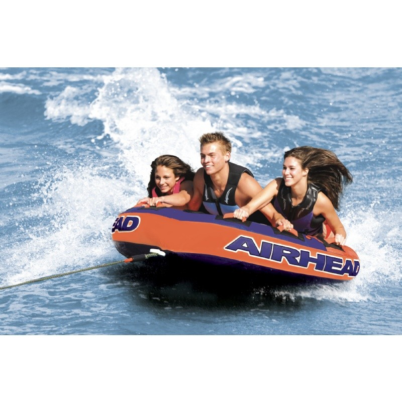 3 Person Big Mable Tube: Super Slice 3-Rider Towable Tube