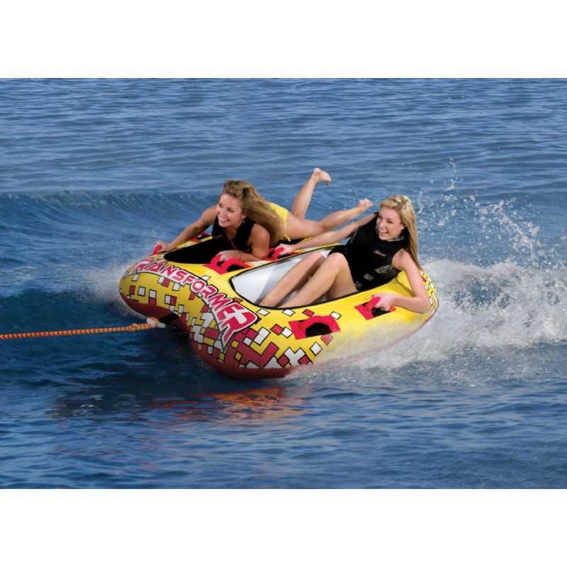Towables Inflatables: Transformer 2-Rider Towable Tube