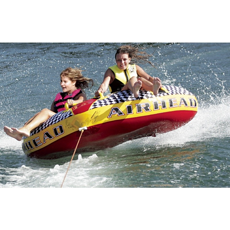 6 Person Float: Turbo Blast Double Rider Towable