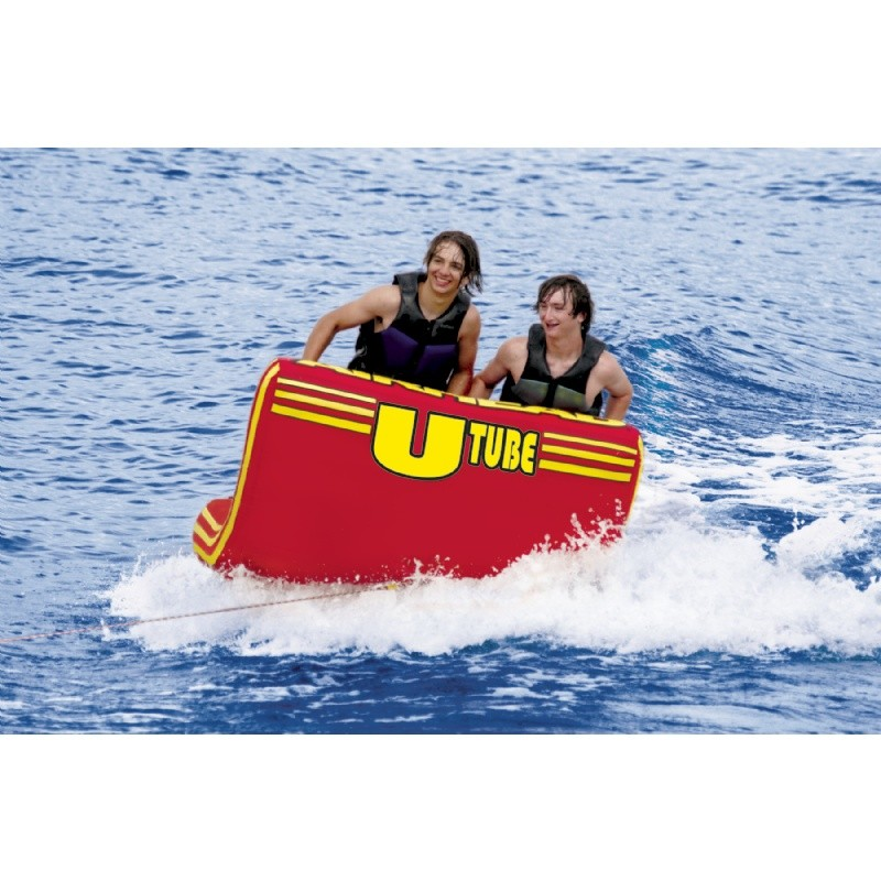 Water Sports Tubing: U-Tube 2-Rider Towable Tube
