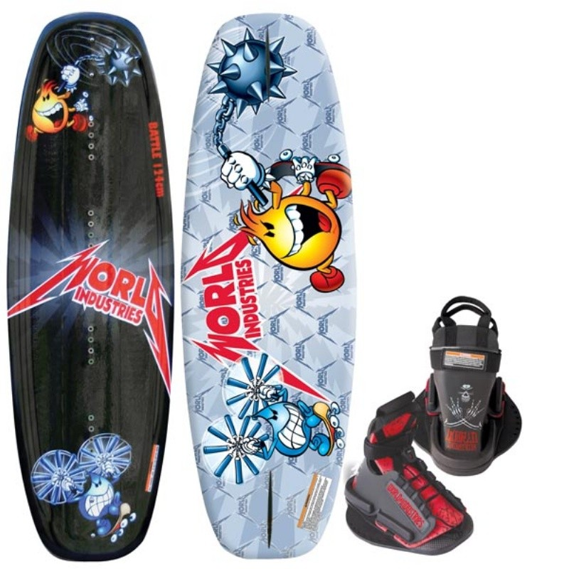 Wakeboard & Binding Sets: WI Battle Wakeboard with DC Bindings