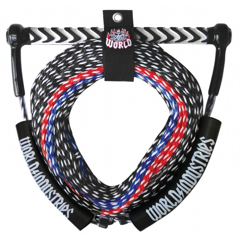 Towing Ropes: WI Skullbo Wakeboard Rope