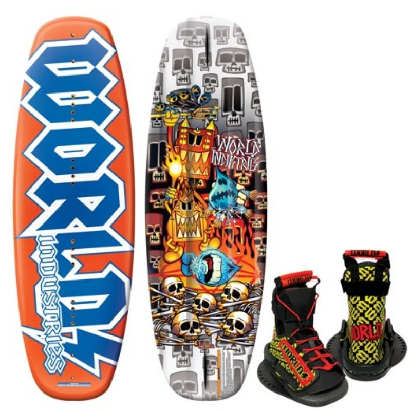 Wakeboard & Binding Sets: WI Voo Doo Wakeboard with DC Binding