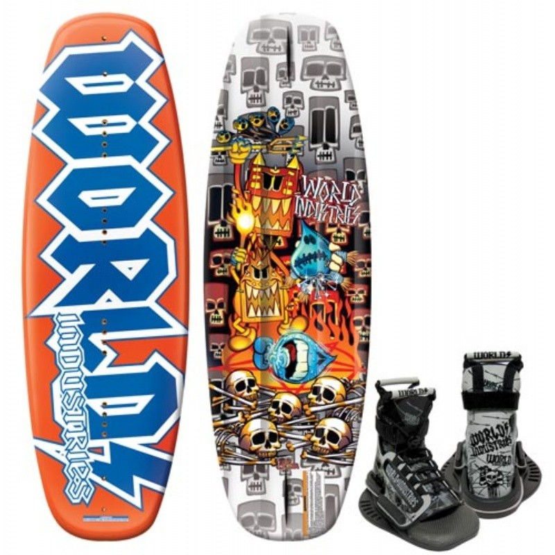 Wakeboard & Binding Sets: WI Voo Doo Wakeboard with Mud Buddy Binding