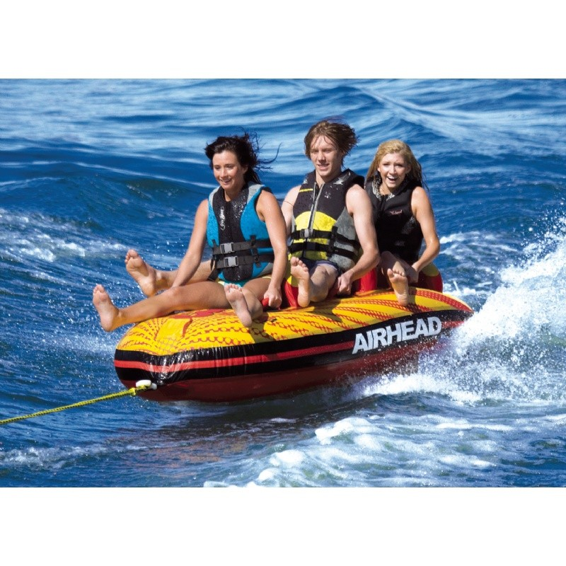 Pig Cookers Towable: Wake Surf 3 Person Towable Kayak
