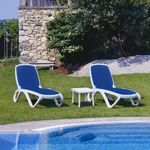 Omega 3-pc Commercial Lounge Pool Furniture Set NR-OMEGASET3