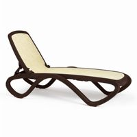 Adjustable Omega Sling Chaise Lounge - Brown Beige NR-40417
