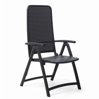 Darsena Outdoor Folding Chair in Anthracite NR-40316