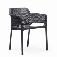 Net Contemporary Outdoor Arm Chair Anthracite NR-40326