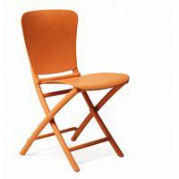 Zac Classic Resin Folding Dining Chair Orange NR-40324