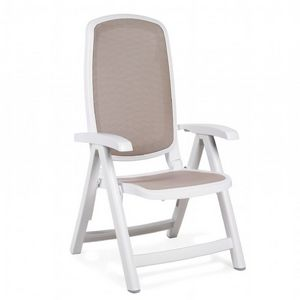Delta Adjustable Folding Sling Chair White Sand NR-40310-00-124