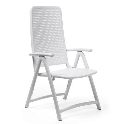 Darsena Outdoor Folding Chair in White NR-40316